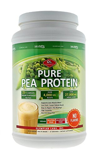 Olympian Labs Pure Pea Protein Powder, 27 Servings