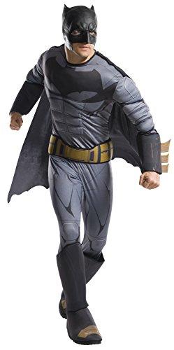 Rubie's Costume Men's Batman Adult Deluxe Costume, As Shown, X-Large