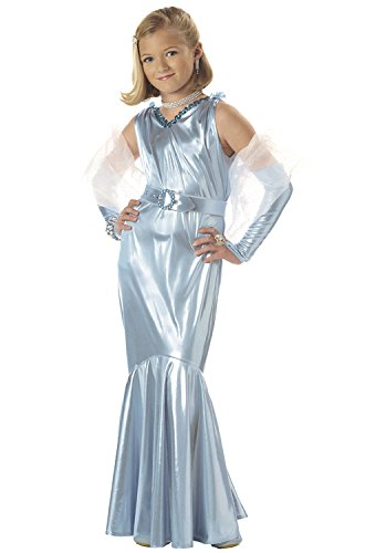 Child Movie Star Halloween Costume (California Costumes Glamorous Movie Star Child Costume -)