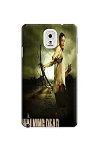3D clear crystal bling case cover tpu phone cover with pretty view for Samsung Galaxy note3 of The Walking Dead Daryl Dixon in Fashion E-Mall hjbrhga1544