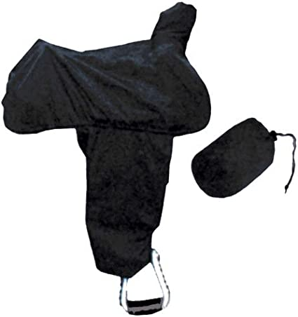 Intrepid International Western Nylon Saddle Cover with Tote