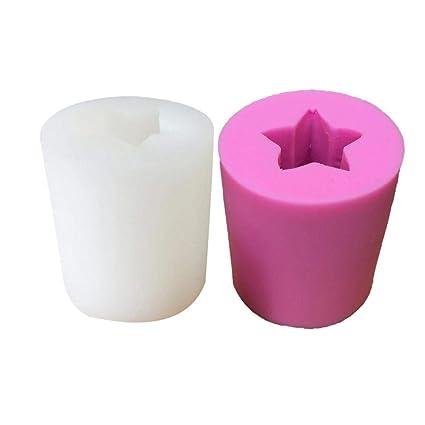 Moldes de repostería DIY silicona molde molde de vela de cactus se puede para los pasteles