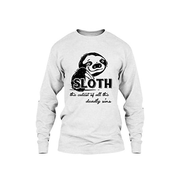 Five Lemon Sloth The Cutest Deadly Sins Tee Shirt, Cool Sweatshirt, Hoodie -