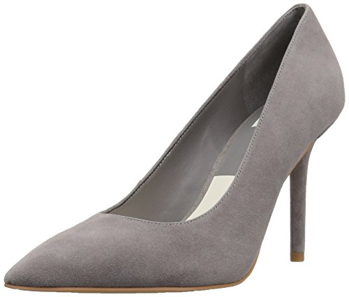 Dolce Vita Women's MIKA Pump, Smoke Suede, 7.5 Medium US