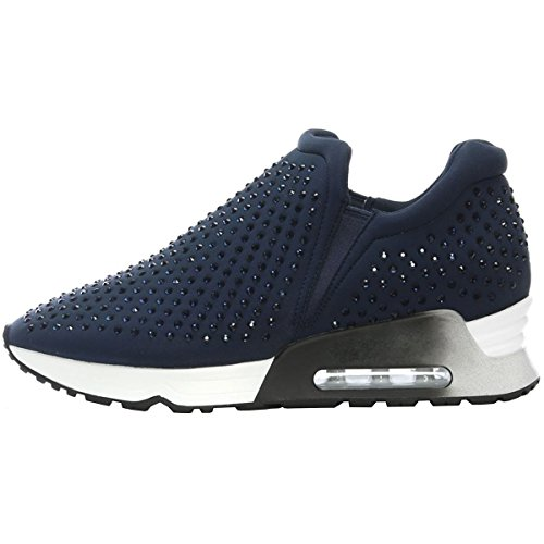 Lifting Womens Textile Blu Trainers Ash BYp5qwFF
