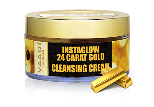 24 Carat Gold Cleansing Cream with Marigold Oil & Wheatgerm