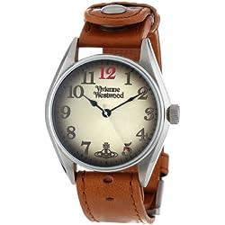 Vivienne Westwood Men's VV012TN Buckle Tan Watch