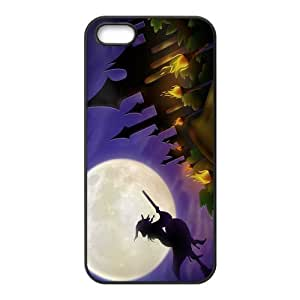 Custom Witch Back Cover Case for iphone5,5S JN5S-236
