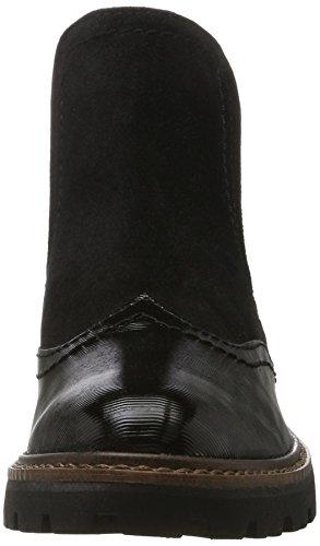 Stpcom Botas Tozzi para Marco Negro Black 25412 Mujer Chelsea 8Rwc6BOq