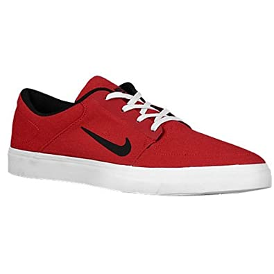 7d40d8ad1b85f6 Image Unavailable. Image not available for. Color  Nike SB Skateboarding Portmore  Canvas Gym Red Black White ...