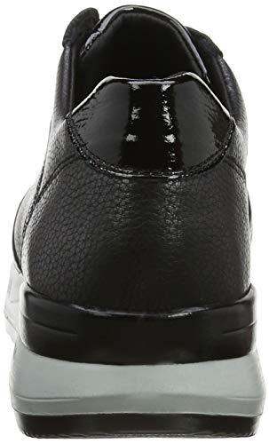23879 Mujer 7 Zapatillas Horas Negro negro Para Sin 24 Cordones 5Sv1qYxpwn
