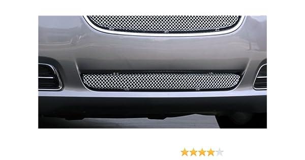 T-Rex Grilles 44433 Small Mesh Stainless Chrome Finish Sport Grille Insert for Chrysler 300