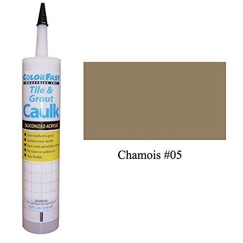 Mapei Color Matched Caulk by Color Fast (Unsanded/Smooth) (Chamois)