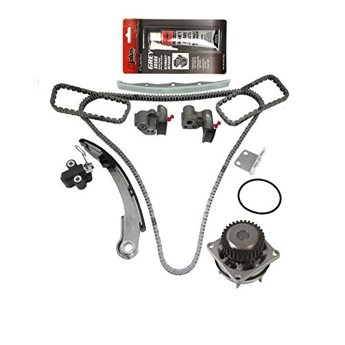 (MOCA Timing Chain Kit with Water Pump for 04-08 Nissan Maxima & 04-06 Nissan Altima & 04-09 Nissan Quest 3.5L V6 24V DOHC)