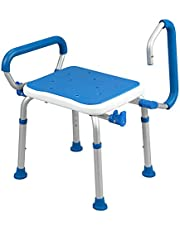 PCP Bath bench shower safety seat, swing arms, adjustable height, medical senior