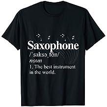 Saxophone T-Shirt - Jazz Musician Saxophonist Marching Band