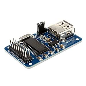 FJAMEI@ CH375B Flash Drive Comunicación Módulo w / USB - Negro + Azul