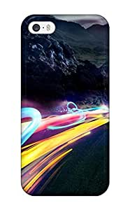 Iphone 5/5s Case Slim [ultra Fit] Funky High Way Protective Case Cover wangjiang maoyi