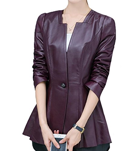 One Button Swing Jacket - 9