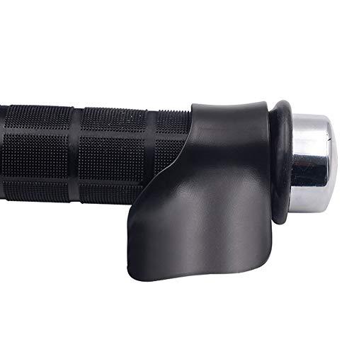 interjunzhan Professional Assist Wrist Cruise Control Cramp Rest Universal Motorcycle E-Bike Grip Throttle(1pcs) Black