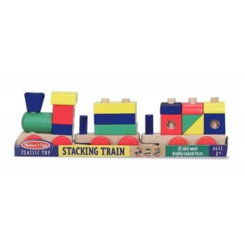 Melissa & Doug Stacking Train ()