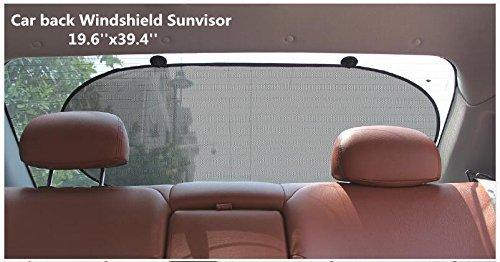 49,78 x 100 cm Mitef Parasoles est/áticos para ventanilla lateral//trasera de coche