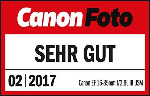 Canon Objektiv EF 16-35mm F2.8L III USM Ultraweitwinkel Lens f/ür EOS 82mm Filtergewinde schwarz