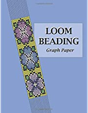 Loom Beading Graph Paper: Specialized graph paper for designing your own unique bead loom patterns