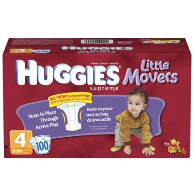 K-C10518 - Kimberly Clark Professional Huggies Little Movers Diapers by Kimberly-Clark