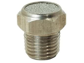 Stainless Steel Breather Vent Muffler 1 4 Quot Npt 70um