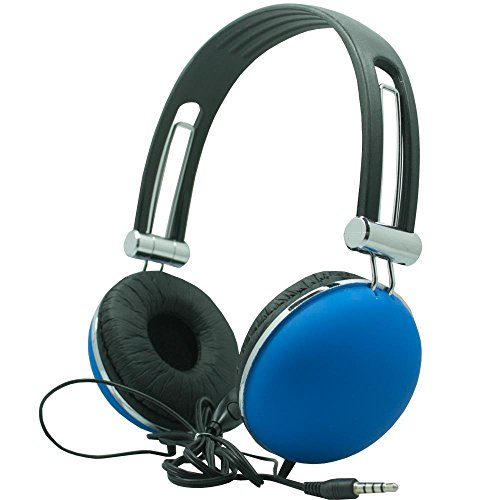 Stereo Earphone/Headsets with Mic for LG K10 (Blue) - 7