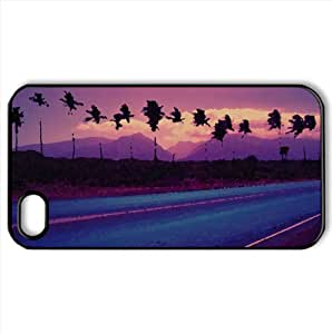 Roadside Trees Watercolor style Cover iPhone 4 and 4S Case (Landscape Watercolor style Cover iPhone 4 and 4S Case)