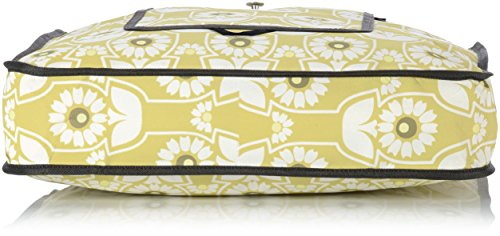 Petunia Pickle Bottom Shopper Tote - Bolsa de compras, color negro Amarillo (Sunlit Stockholm)