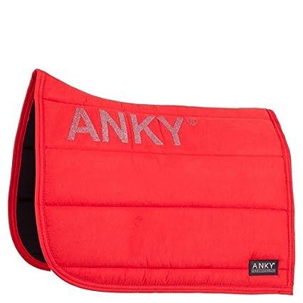 Anky Tapis De Selle De Dressage Ss17 Coquelicot Rouge Amazon Fr