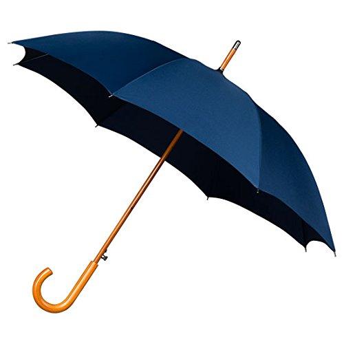 Falcone automático para hombre resistente al viento paraguas para - azul oscuro