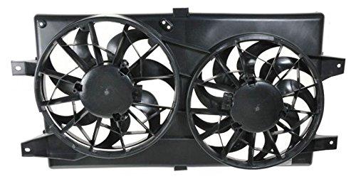 - Radiator Cooling Fan Assembly for 01-06 Chrysler Sebring Dodge Stratus Sedan