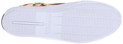 Sperry Top-sider Mens Striper Cvo Hawaiian Fashion Sneaker Arancione