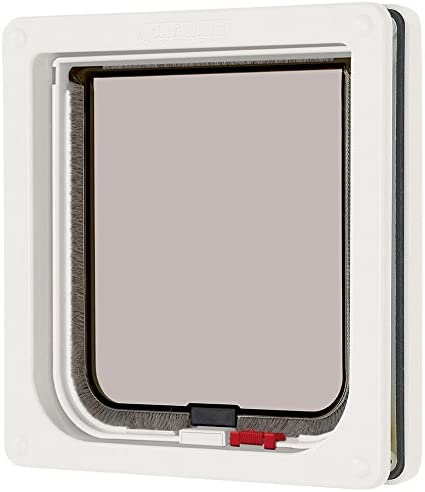B0002AQZKC Cat Mate Lockable Cat Flap White 41y9q4ZkKvL