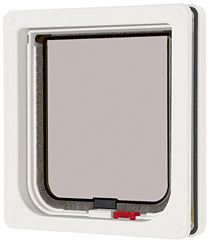 Cat Mate Lockable Cat Flap White (Cat Door For Door compare prices)
