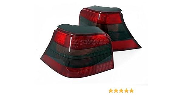 Luces Piloto trasero rojo/negro ahumado para Golf 4 GTI R32 ...