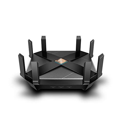 TP-Link AX6000 WiFi 6 Router, 8-Stream Smart WiFi Router - Next-Gen 802.11ax Router, 1.8GHz Quad-Core CPU(Archer AX6000) (Renewed)