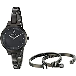Invicta Women's 'Gabrielle Union' Quartz Stainless Steel Casual Watch, Color:Black (Model: 23325)