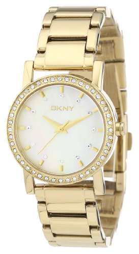 DKNY Gold-tone Steel Bracelet Mother-of-Pearl Dial Women s Watch NY4792