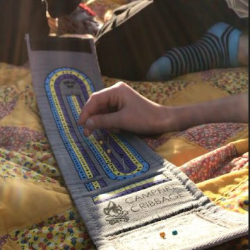 Campfire Cribbage – This unique Playful Nomad board game wraps around a deck of cards making the ultimate travel accessory. Get yours now for family fun on all your adventures! by The Playful Nomad (Image #7)