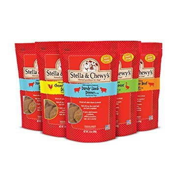 Stella & Chewy's Freeze-Dried Food for Dogs, 15 oz (Variety Pack of 5) by Stella & Chewy's