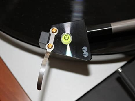 Vinyl Guru - Mini nivel de burbuja para brazo de tocadiscos para ...