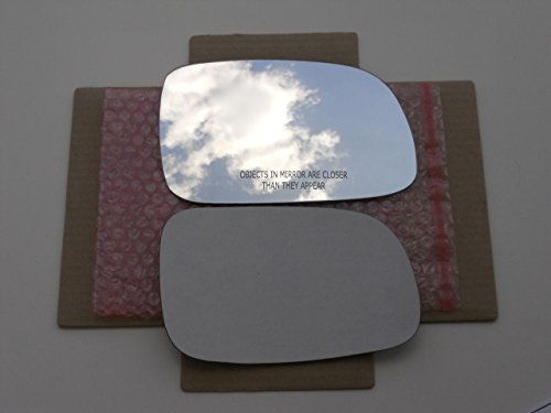 ADHESIVE 99-04 JEEP GRAND CHEROKEE Driver Side **FAST SHIP** NEW Mirror Glass