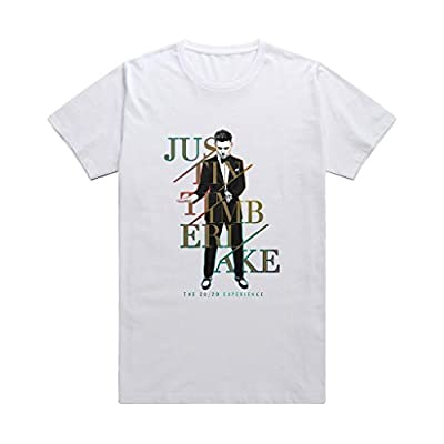 Toomii Men's Justin Timberlake The 20/20 Experience World Tour T-shirt