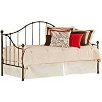 Hillsdale 1271DBLH Daybed with Suspension Deck, Aged Steel