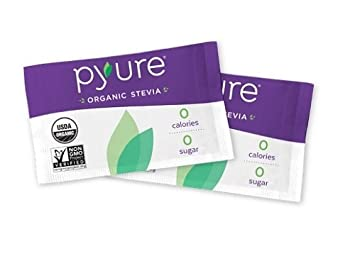 Organic Stevia Sweetener Packets, 0 Calorie, Sugar Substitute, 1000 Count